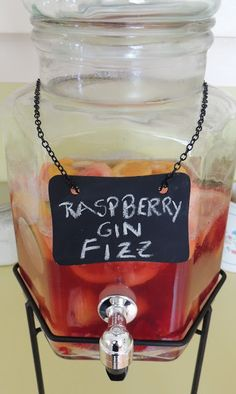 Gas Stove Girl: Raspberry Gin Fizz