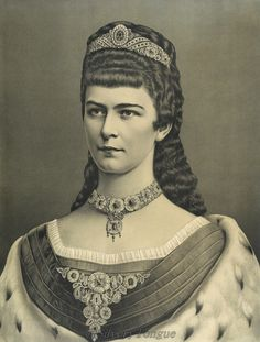 Kaiserin Elisabeth in the 70´.