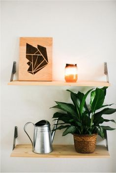How to: wood stain art