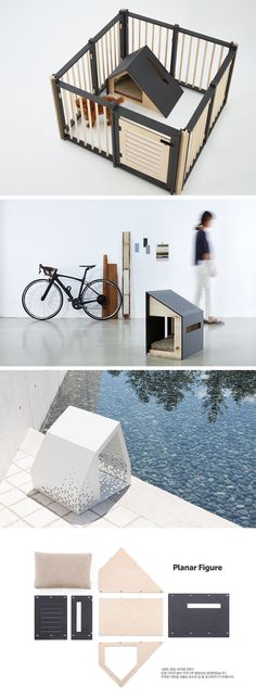 A line of modern minimalist pet homes have been designed by south korean brand BAD MARLON that would meet the specs of any architect.