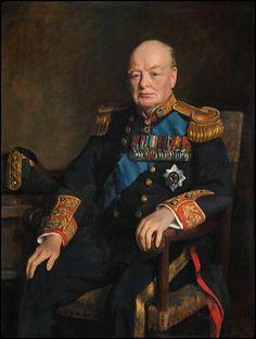 Sir Winston Churchill By John Leigh-Pemberton