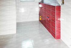 Obkladačství, zednictví, koupelny a kuchyně Tile Floor, Divider, Flooring, Room, Crafts, Furniture, Home Decor, Bedroom, Manualidades
