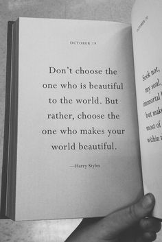 Words of wisdom from Harry Styles The Words, Cool Words, Great Quotes, Quotes To Live By, Inspirational Quotes, Choose Quotes, Motivational Quotes, Words Quotes, Me Quotes