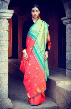 Indian Handwoven Sarees