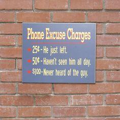 Funny Phone Sign, Novelty Sign, Custom Phone Sign, Funny Bar Sign, Bar Sign
