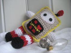 crochet #robot