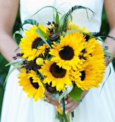 Der Brautstrauß für den Herbst