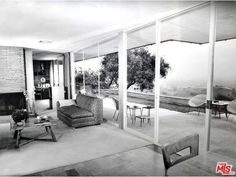 Mid-Century Modern in the Hollywood Hills by Neutra Disciple Lucille Raport…