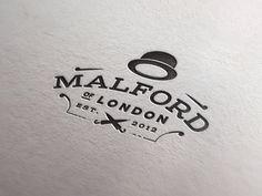 Malford London - Designer: Joe White | #corporate #branding #creative #logo #personalized #identity #design #corporatedesign < repinned by www.BlickeDeeler.de | Have a look on www.LogoGestaltung-Hamburg.de