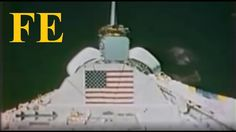 NASA - how to fake space badly in 1983 - GREAT find by Geoshifter - Flat...