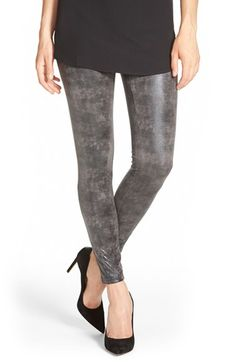 Hue Shimmer Microsuede Leggings available at #Nordstrom