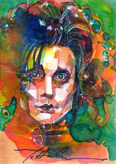 watercolor edward - mark mchaley