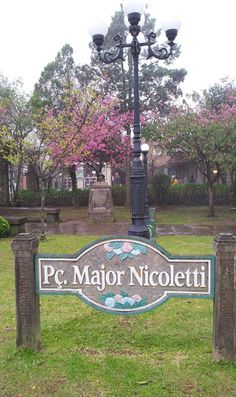 Praça Major Nicoletti Gramado R/S