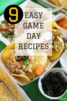 9 Easy Game Day Reci