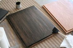 Already-stained wood can be further stained a darker shade (without sanding the wood raw) with gel stain