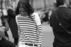 #paris #street #style #streetstyle #AnaGarmendia #photography #fashion #girl #stripes