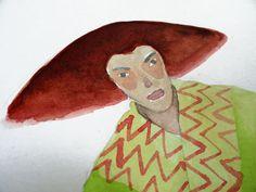 Old color doodles by Magda Bielecka, via Behance