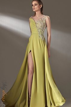 Long Sleeve Evening Dresses, Long Evening Gowns, A Line Gown, Moda Fashion, Silk Dress, Dress Collection, Plus Size Dresses, Designer Dresses, Marie
