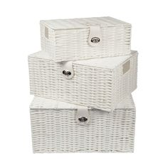 Resin-Woven-Storage-Box-Hamper-Basket-With-Lid-amp-Lock-Black-or-White