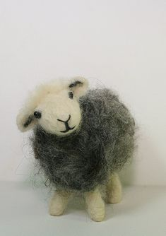 The Herdwick Sheep Traditional Needle Felting Kit - Bred by Beatrix Potter