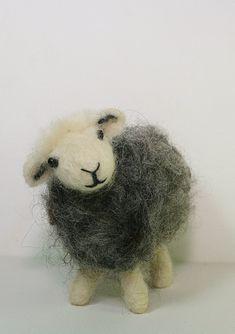 The Herdwick Sheep Traditional Needle Felting by LincolnshireFenn