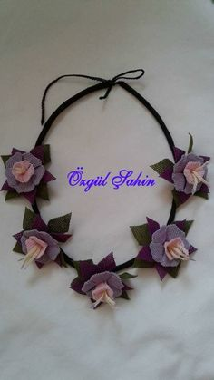 Jewels, Band, Floral, Flowers, Accessories, Tricot, Needlepoint, Sash, Jewerly