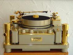 "Platine Thorens Reference Mk I 1979 SME 3012"" Gold Limited Edition 90 kilos. #recordplayer #turntable #music #thorens #audio http://www.pinterest.com/TheHitman14/the-record-player-%2B/"