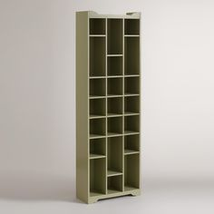 """Shoe Storage Cabinet Available:  COST PLUS World Markets  size:  26.5""""W x 11.8""""D x 82""""H, 103.4 lbs."""