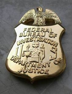 police badge   FBI Badge US Federal Police Badge Polizeimarke   eBay