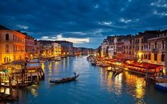 City Of Venice In Italy.