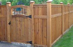 Wood Fence w/gate