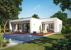 okal bungalow fn 128 146a - Fertighausplne