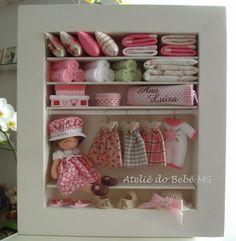 Ateliê do Bebê MG: Mini Closet Bebê ( Ana Luísa )