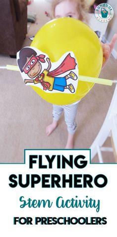 Superhero Theme Preschool Activities - Sandbox Academy