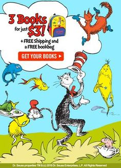 db34ed9542648 The Cat in the Hat is back! Get 3 Dr. Seuss books for  3