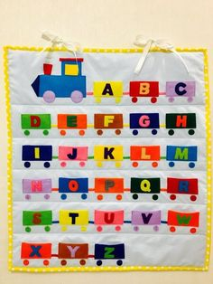 ABC learning game by KidsBookStore on Etsy Abc Learning Games, Preschool Learning Activities, Preschool Activities, Preschool Family Theme, Preschool Classroom Decor, School Board Decoration, Teaching Shapes, Kids Education, Ideas