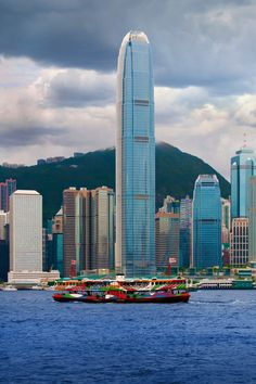 Hong Kong Star Ferry & the IFC