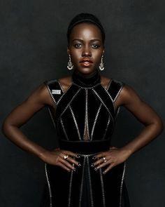 Lupita Nyongo, Gq, Fashion Photography, Instagram, Tops, Women, High Fashion Photography, Woman