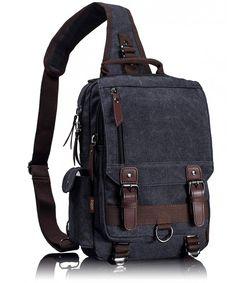 45e27096d3c Luggage  amp  Travel Gear, Messenger Bags,Canvas Messenger Bag Sling Bag  Cross Body