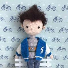 Hello handsome! #crochet#amigurumi #crochetaddict #crochetlove #yarn #yarnlover #handmade #haken #häkeln #crochetdoll #doll #ganchillo#вязание #코바늘인형#かぎ針編み#амигуруми#钩针#crochetwawa