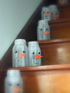 Mason jars, mod podge or white glue, and strips of tissue paper.