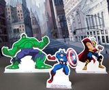Free printable Avengers activities includes coloring pages, masks, pencil toppers and playsets.