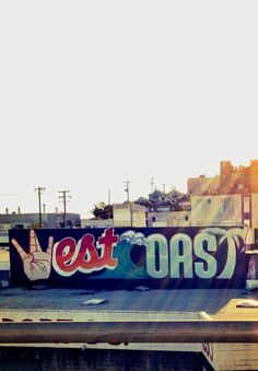 West Coast graffiti in SF San Diego, San Francisco, Santa Monica, The Places Youll Go, Places To Go, Wanderlust, Cali Girl, California Dreamin', Inglewood California