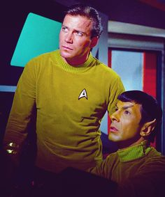 Where no man has gone before (also known as that one episode where Spock wore yellow and had really weird eyebrows)