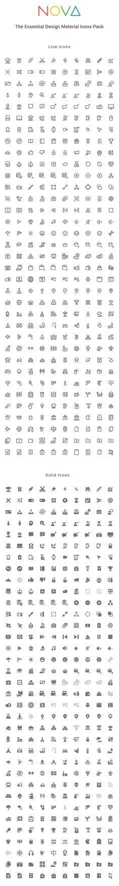 350 ícones estilosos Esboço, Ai, SVG, PDF, EPS, Iconjar Grátis