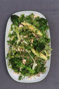 Green goddess noodle salad.