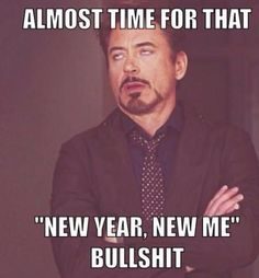New year bullshit! Lol