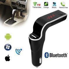 Hands Free Bluetooth, Car Bluetooth, Radio Kit, Usb, Mp3 Player, Charger, Cigar, Electronics