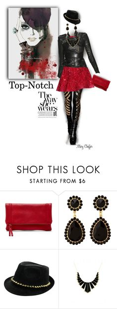 """Top-Notch"" by mcheffer ❤ liked on Polyvore featuring Sole Society, Elie Saab, Charlotte Russe, House of Harlow 1960 and vintage"