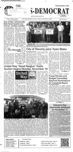 The News-Democrat (Waverly, Tennessee) newspaper archive is available at http://ndw.stparchive.com/